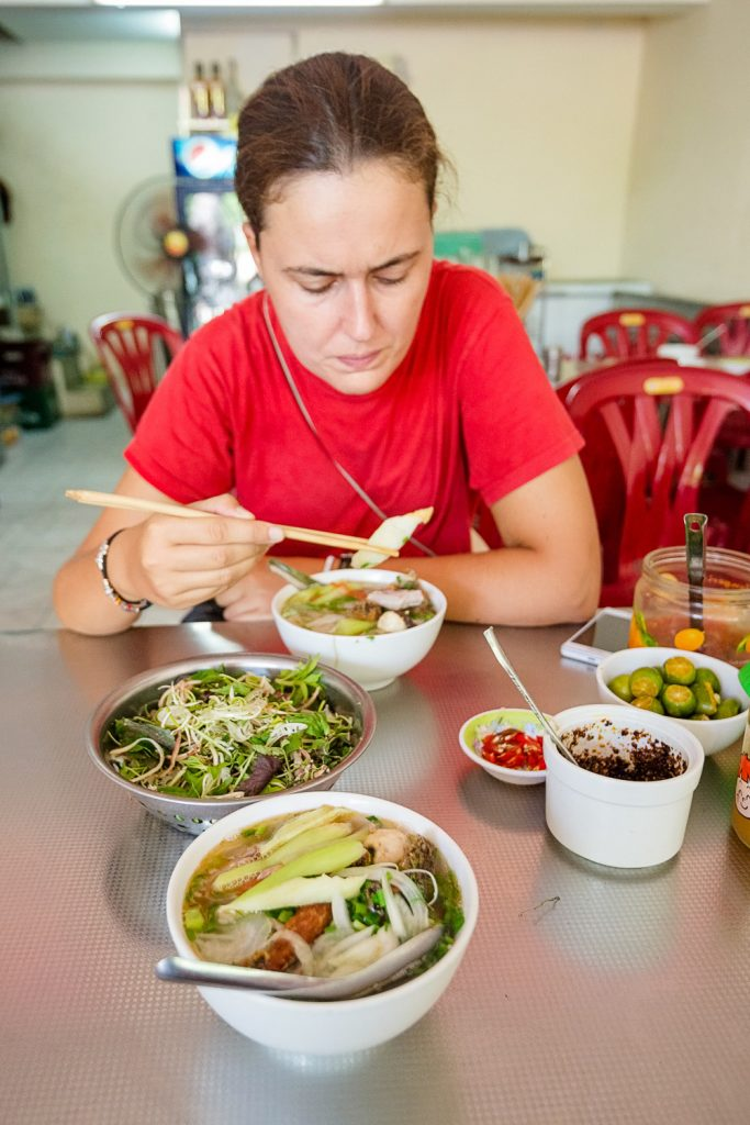 The good looking and funny-tasting pho