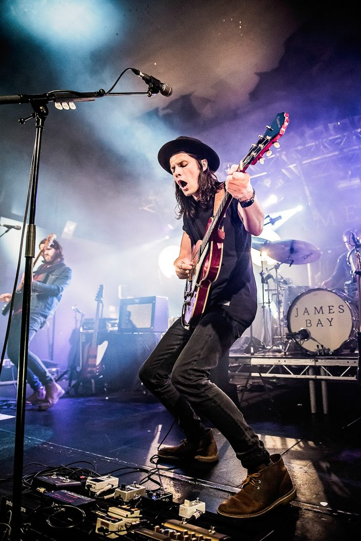james bay live in oxford