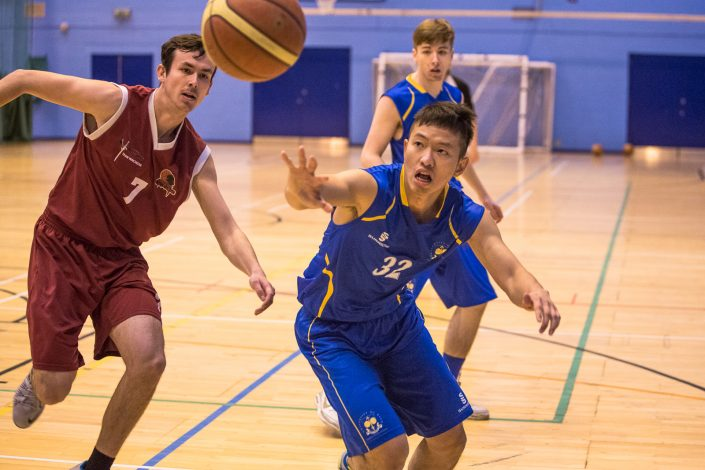 mens basketball university of bath vs winchester