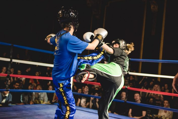 fight night kickboxing university bath ring